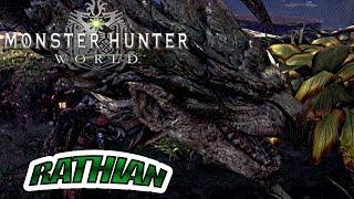 Let's Play MONSTER HUNTER WORLD  Part 18  Royal Relocation : Rathian Hunt [PS4 Pro]