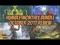 Humble Monthly Bundle   October 2017 Review