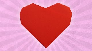 Origami 6-Fold Heart (Stéphane Gigandet)