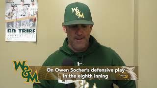 Baseball Postgame Interview vs. George Washington