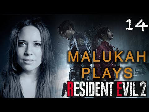 Malukah Plays Resident Evil 2 - Ep. 14