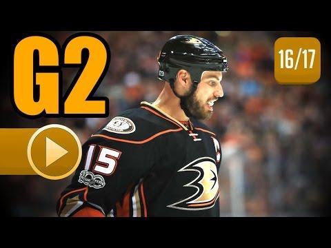 Edmonton Oilers vs Anaheim Ducks. 2017 NHL Playoffs. Round 2. Game 2. April 28th, 2017. (HD)