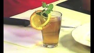 Как украсить коктейль цедрой лимона (лайма) / от шеф-повара / Илья Лазерсон / Кулинарный ликбез