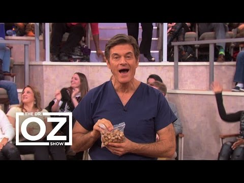 Why Dr. Oz Thinks You Should Eat More Peanuts