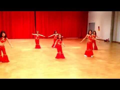 Cours de danse orientale enfants Shainez