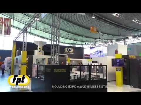 Video stand FPT MOULDING EXPO 2015 MESSE STUTTGART.