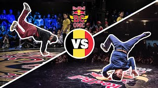 Red Bull BC One Cypher Belgium 2019 | Semifinal B-Boys: Admiracles vs. Lucky