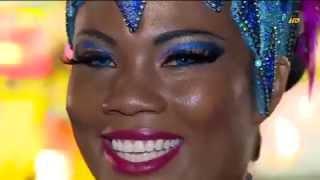 Repeat youtube video Musa do Salgueiro Fernanda Figueredo 2013 nos Bastidores do Carnaval Carioca