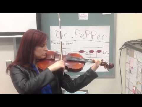 Beginner Violin/Viola - Jingle Bells