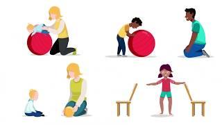 Tips på bollekar för barn med synnedsättning - textad