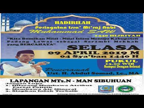 Ustad Abdul Somad Di Padang Lawas.