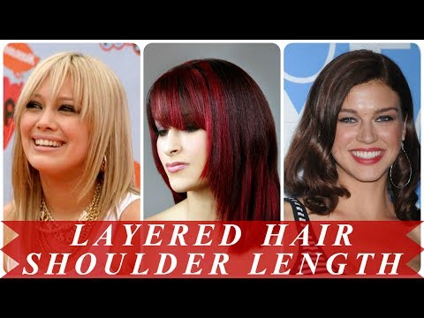 Perfect shoulder length layered hairstyles