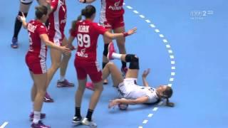 Mistrzostwa Świata w Piłce Ręcznej 2016 Dania Polska vs Rosja HD Mecz 1/4 Finału