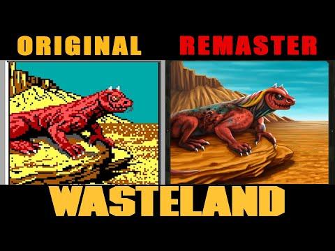Сравнение оригинального Wasteland с Wasteland Remastered для Xbox One