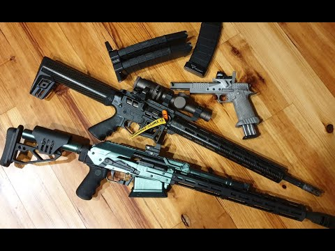 """Open"" Division 3-Gun Rifle For LV R"