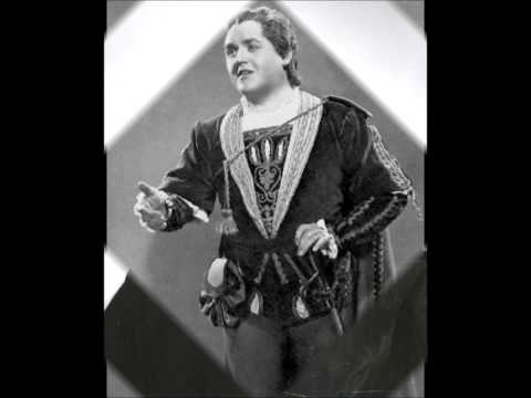 BJÖRLING'S LAST RECORDED LIVE RIGOLETTO - Excerpts