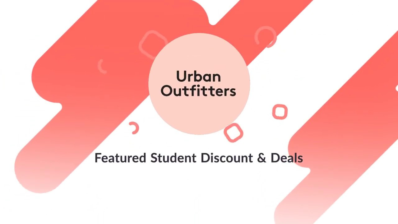 Urban Outfitters Featured Student Discounts Deals Youtube