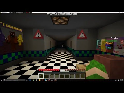 Minecraft Fnaf 2 map Night 1 (Attempt) Download and Creator in the description