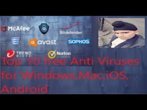 Top 10 Free Anti Viruses For Windows, Mac, Android, IOS