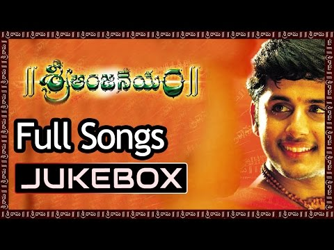 Sri Anjaneyam Telugu Movie Songs Jukebox ll Nithin, Charmi