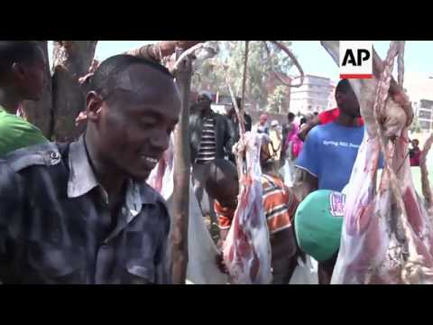 Muslims celebrate Eid holiday in Kosovo, Kenya, Turkey and Nigeria
