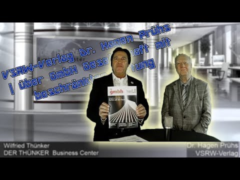 VSRW-Verlag Dr. Hagen Prühs | über GmbH Gesellschaft mit beschränkter Haftung