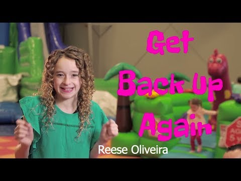 """""""Get Back Up Again"""" (Trolls / Anna Kendrick) cover by Reese Oliveira (age 12)"""