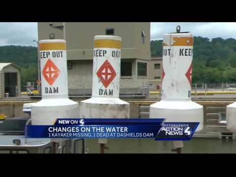 More buoys, signage coming to Ohio River dam after fatal kayak accident