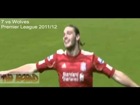Andy Carroll's - 11 Goals For Liverpool II HD