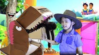 ไดโนเสาร์กล่องกระดาษมีชีวิต 🦖จูราสสิค Jurassic World รวมนิทานก่อนนอนละครสั้นวินริว