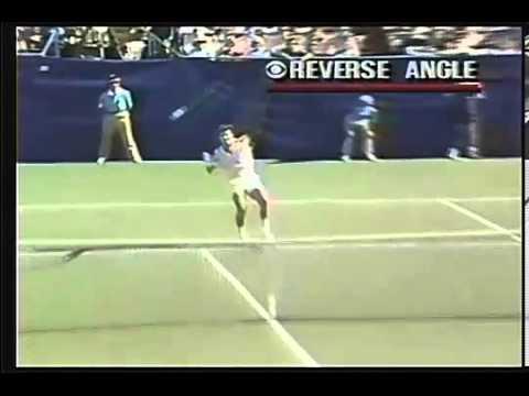 TubeChop Jimmy Connors Tirade 1991 U S Open 00 40