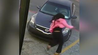 Mother Jumps on Car to Stop Carjacking