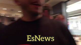 Nate Diaz hero's welcome by his team