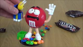 M&m Jack In The Box Chocolate Candy Dispenser Toy