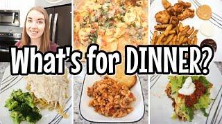 WHAT'S FOR DINNER? // EASY DINNER IDEAS // SIMPLE DINNER RECIPES