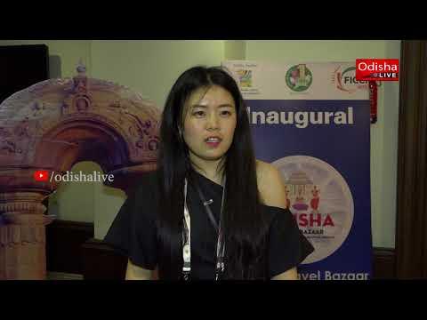 Lydia, Sales Consultant, Beijing Nimbus International Travel on Odisha Travel Bazaar - Interview