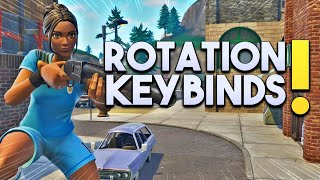 MINHA ROTATION + KeyBinds - Fortnite Battle Royale ( PS4)