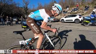 Tour de La Provence : revivez en vidéo la victoire de Quintana sur les pentes du Ventoux