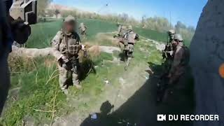 7th Special Forces Group near an Isis Stronghold in Afghanistan during a intense ambush