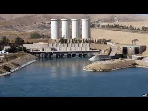 Air strikes on jihadists at Iraq's Mosul dam after 'massacre' of Yazidis report