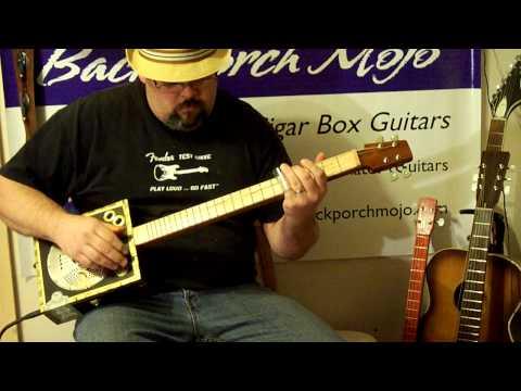 Cigar box guitar #190 by Back Porch Mojo