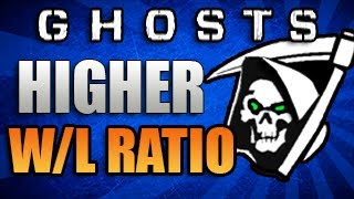 Call Of Duty: Ghosts - How To Get Higher Win Loss Ratio! - ( COD Ghosts Tips & Tricks)