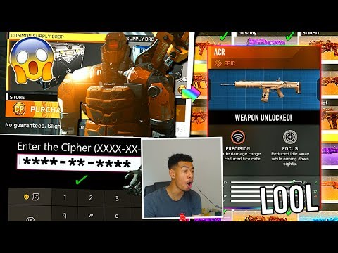QUARTERMASTER CIPHER CODES FOUND!? Reacting to CIPHER UNLOCKED in Infinite Warfare! *1 YEAR LATER*