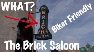 Motorcycle Ride-The Brick Saloon in Roslyn, WA | Biker Friendly-VLOG 37