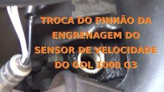 Como trocar a engrenagem do sensor de velocidade do Gol 1000 - FINAL
