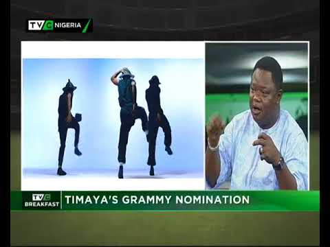 TVC Breakfast Dec. 15th | Timaya's Grammy nomination