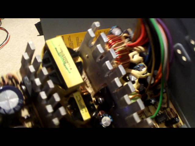 visual inspection of bestec atx 300 12e power supply youtube ATX Mounting Diagram at Bestec Atx 300 12e Wiring Diagram