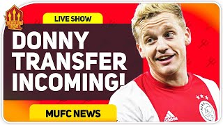 Van De Beek Transfer Close! Man Utd News Now