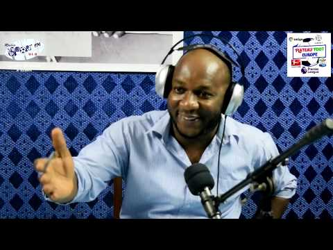 SPORTFM TV - PLATEAU FOOT EUROPE DU 07 DECEMBRE 2018 PRESENTE PAR ANGELO FOLLYKOE