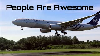 People Are Awesome!   -  Airline Pilots 2017 HD!